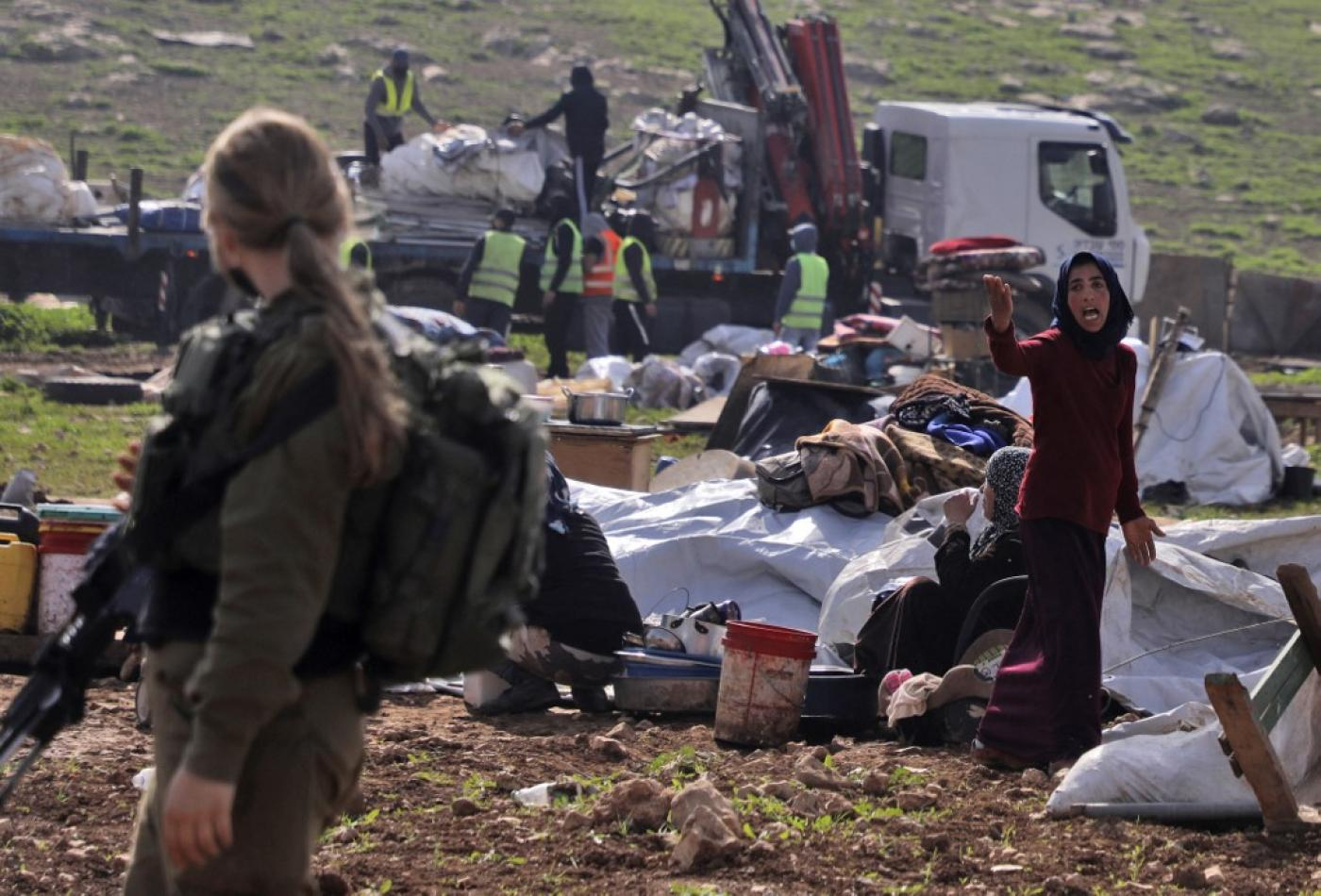UN experts call on Israel to stop repeated demolition of rural Palestinian community