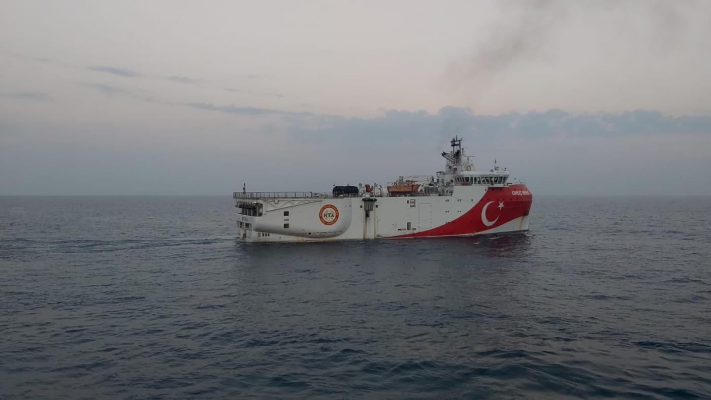 Turkey navy ops in eastern Med 'extremely worrying'