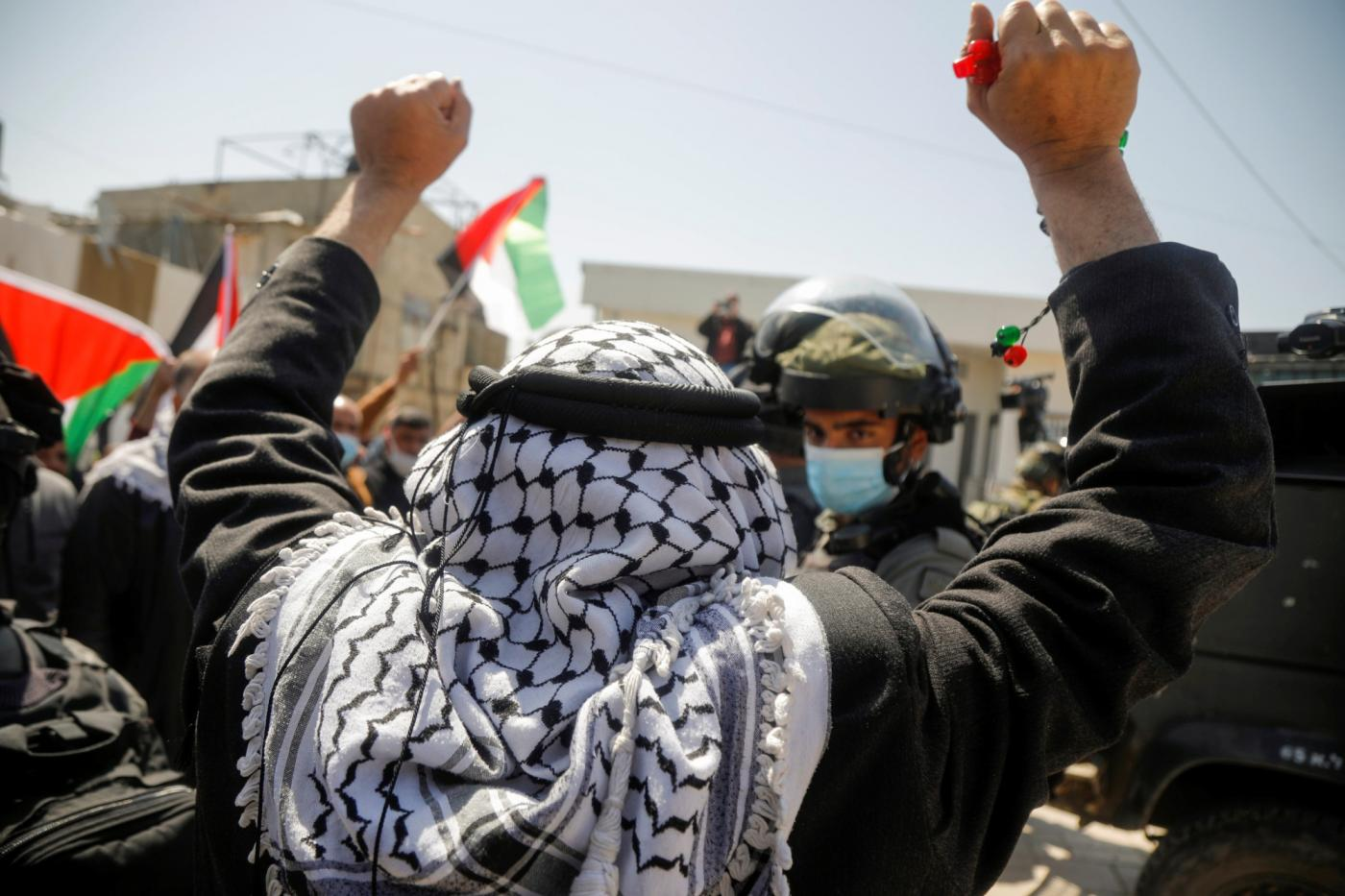 Land Day anniversary: Thousands demonstrate across Israel, Gaza, West Bank  | Middle East Eye
