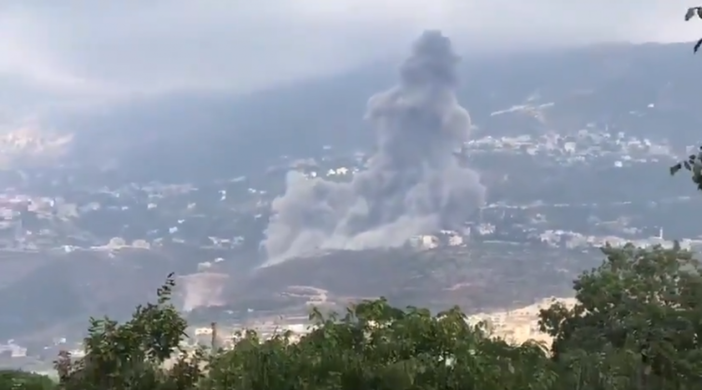 Hezbollah blast: Huge explosion hits south Lebanon