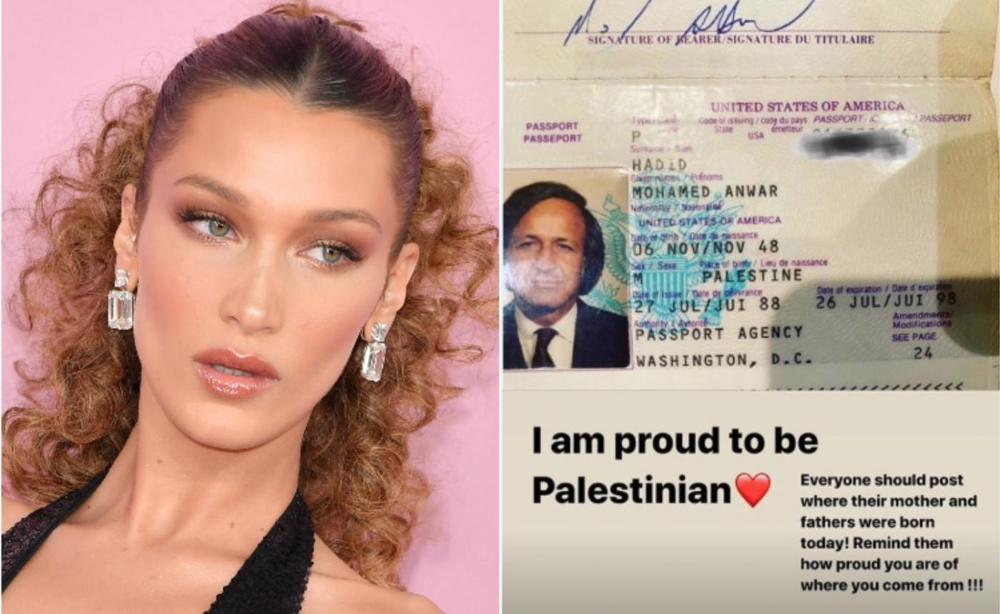 Bella Hadid says Instagram removed her 'Proud to be Palestinian' post