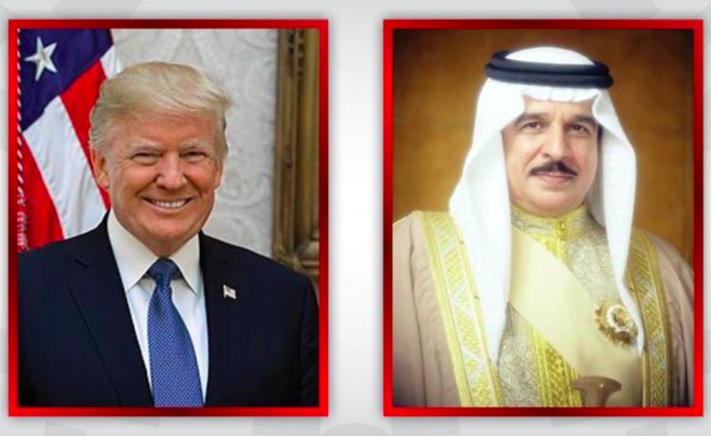 Trump awards Bahrain king legion of merit on last day in office