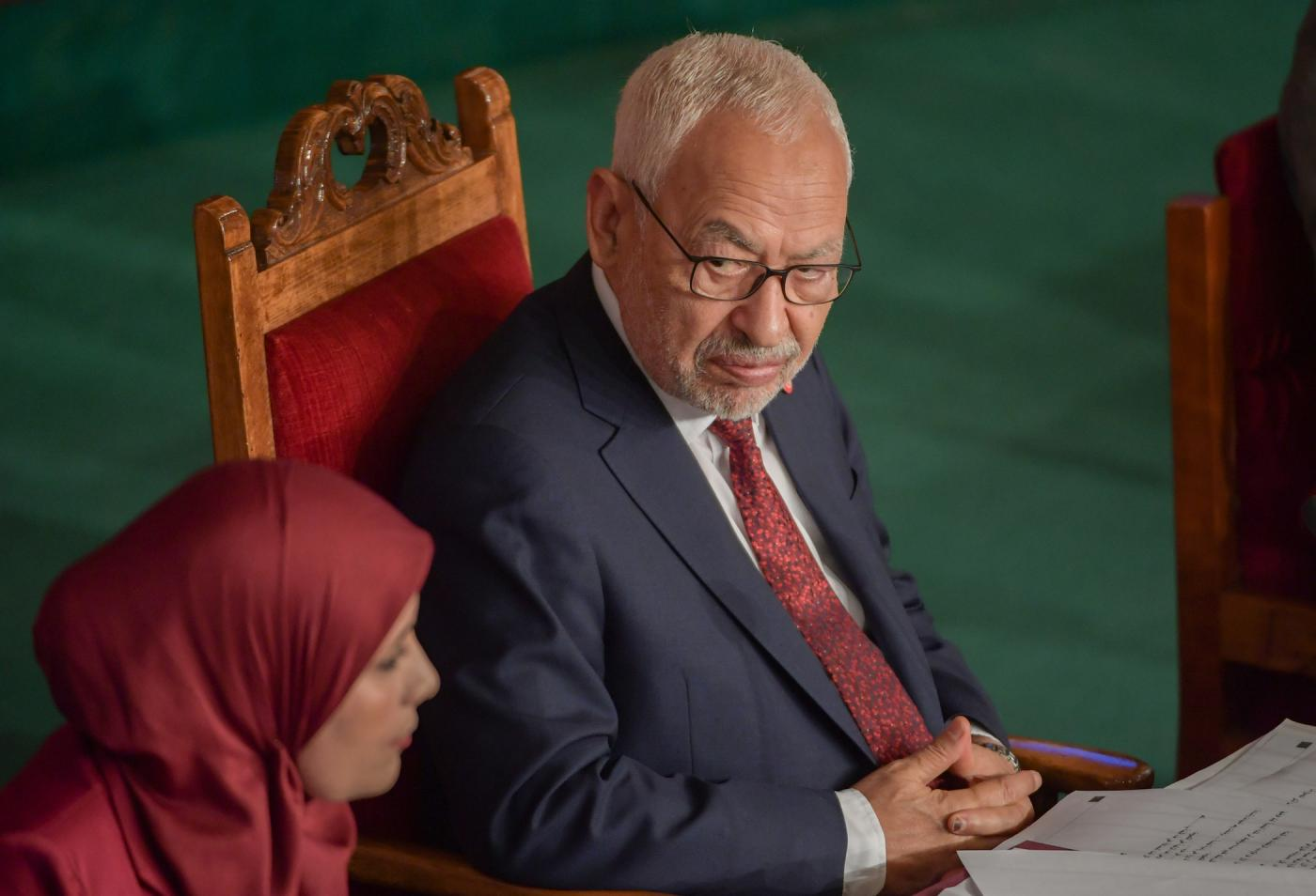 Tunisia Rached Ghannouchi AFP