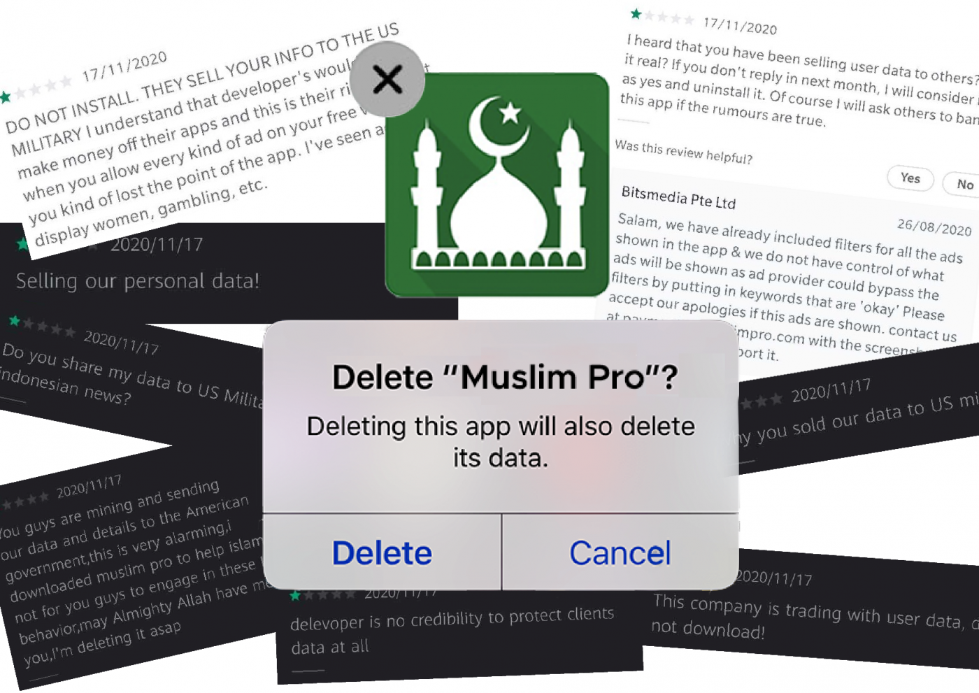 French app users sue Muslim Pro over alleged data sharing with US military