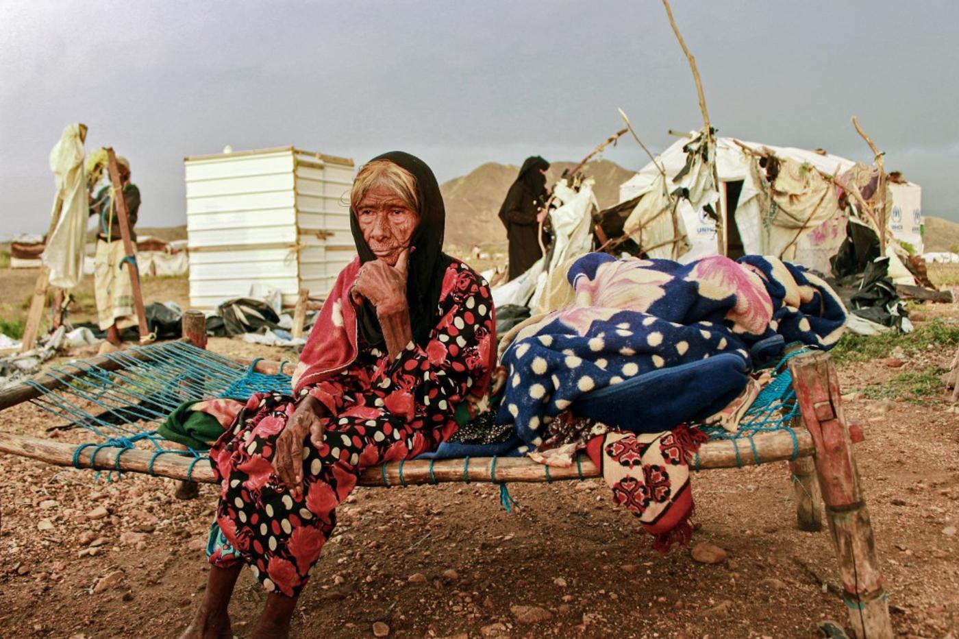 Bağışçılar Yemen'e fonları kişi başı günde yarı yarıya, 25 ABD sentine düşürdü 2