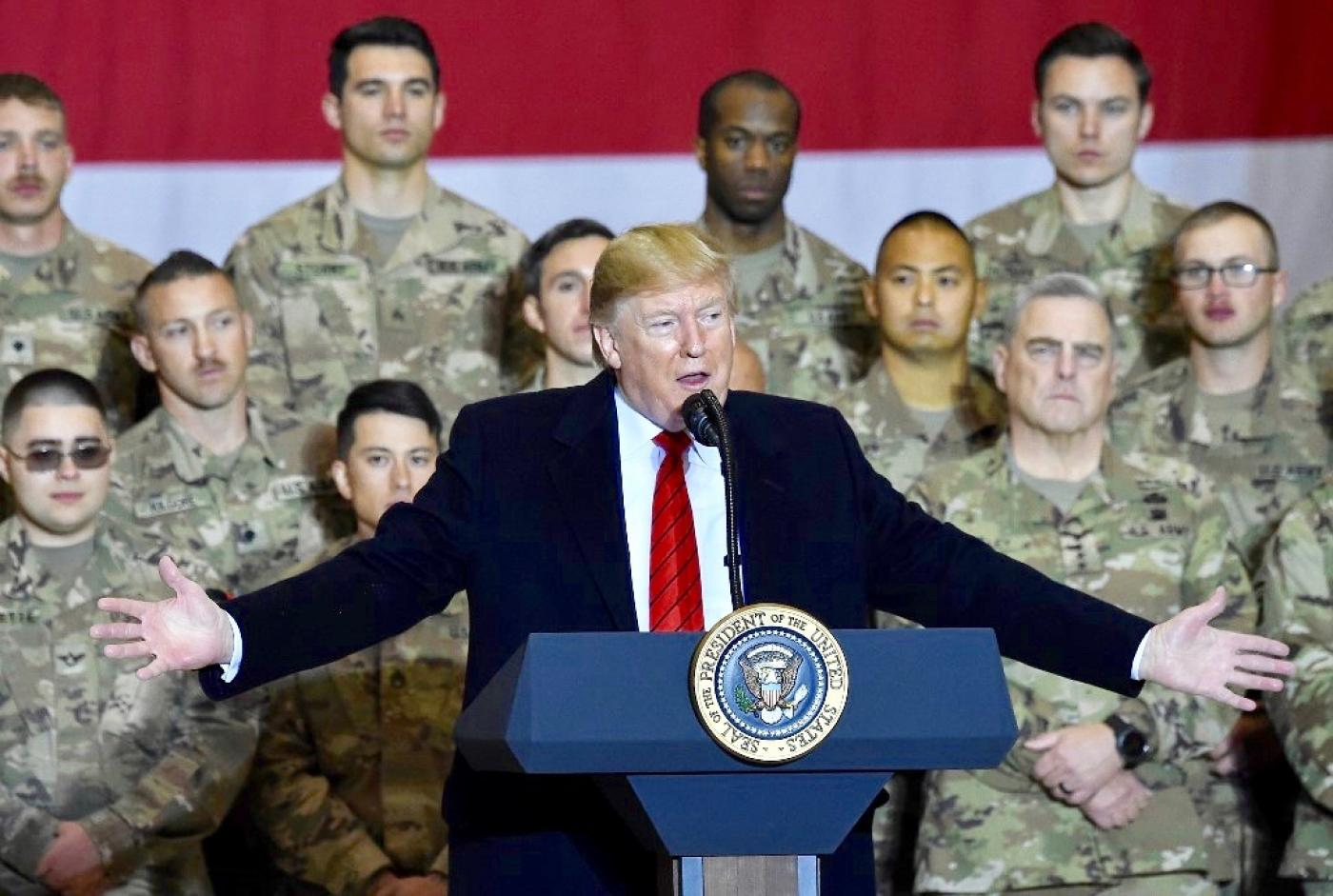 Trump may send 14,000 troops to Middle East as Iran threat grows