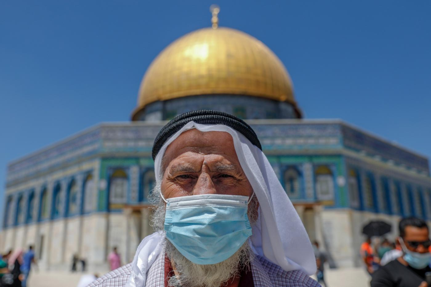 Occupied East Jerusalem's Al-Aqsa Mosque compound