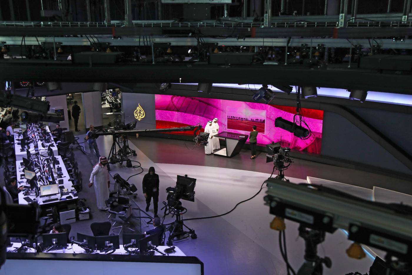 "Doha-based media network Al Jazeera said it was ""deeply disappointed"" by the US decision"