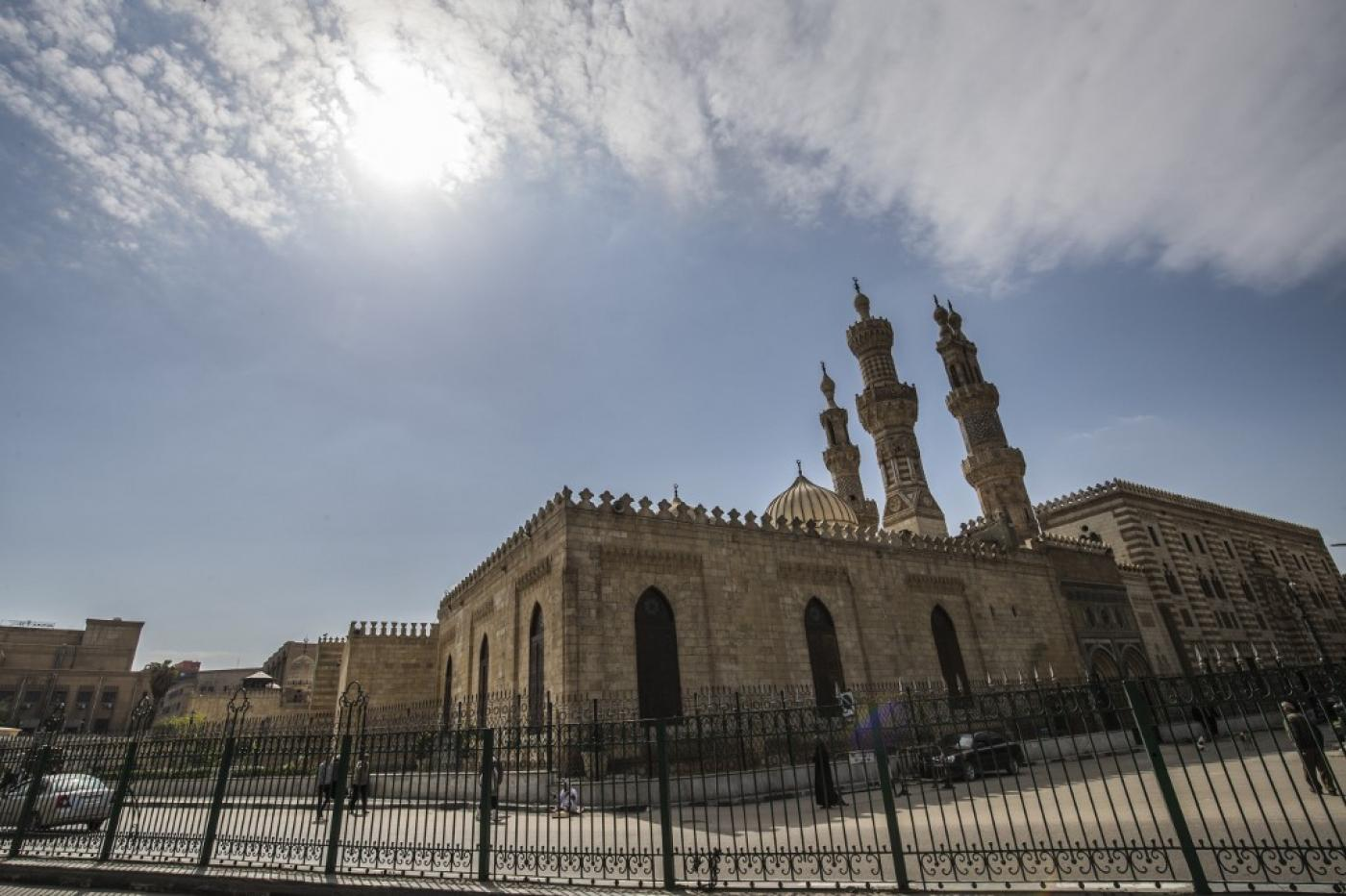 Al-Azhar Mosque in Cairo is home to one of the most-respected schools of Islamic thought