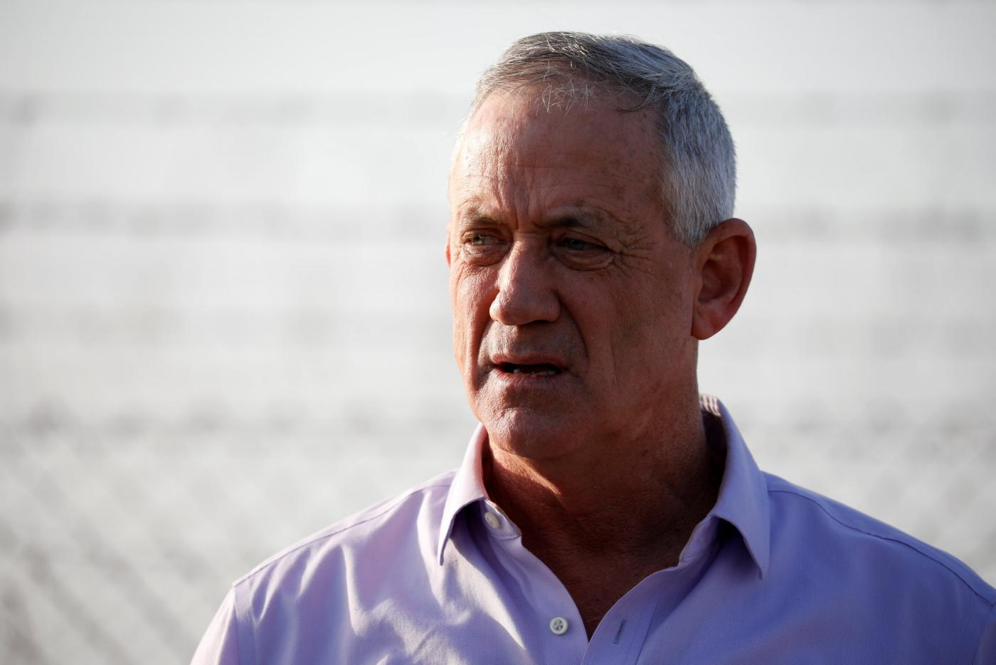 Former Mossad chief says Gantz phone hack leak 'an attack on