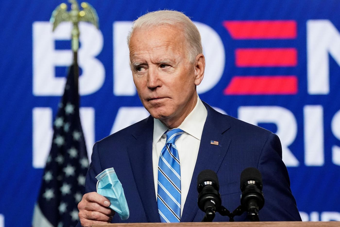 US elections 2020: Joe Biden says he's 'winning enough states' to secure White House | Middle East Eye