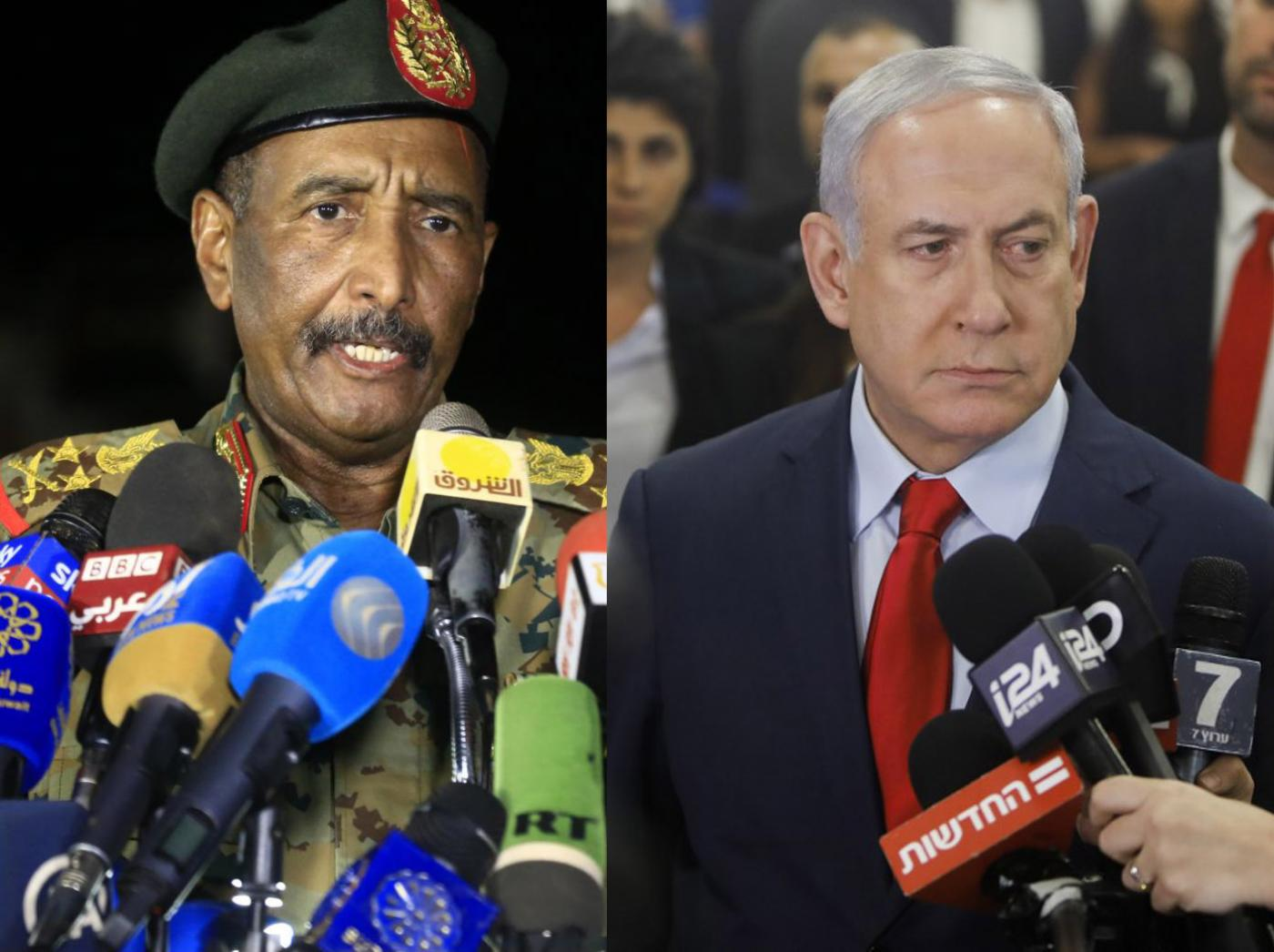 Israeli and Sudanese leaders meet in secret, agree to start normalising  ties | Middle East Eye