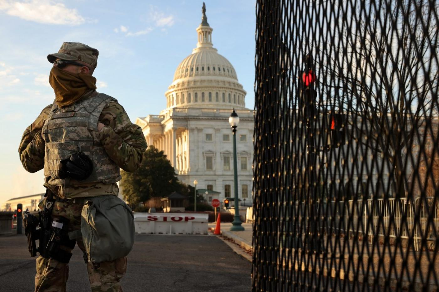 At least 20,000 National Guard troops are being deployed to the nation's capital in anticipation of violence and unrest ahead of Joe Biden's inauguration as president.