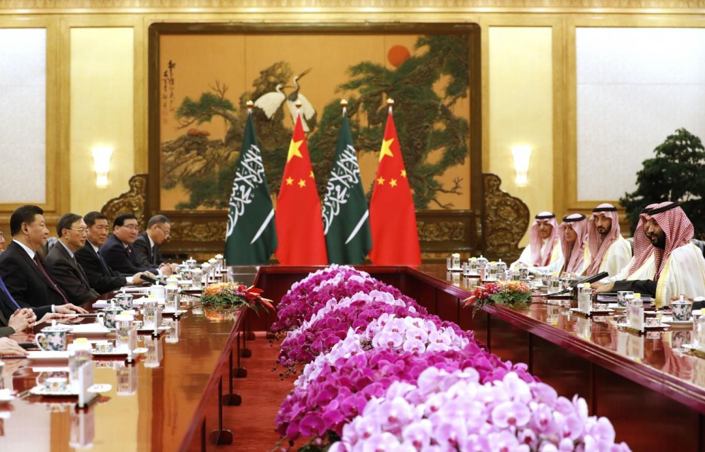 China 'helping Saudi Arabia to develop missile arsenal'