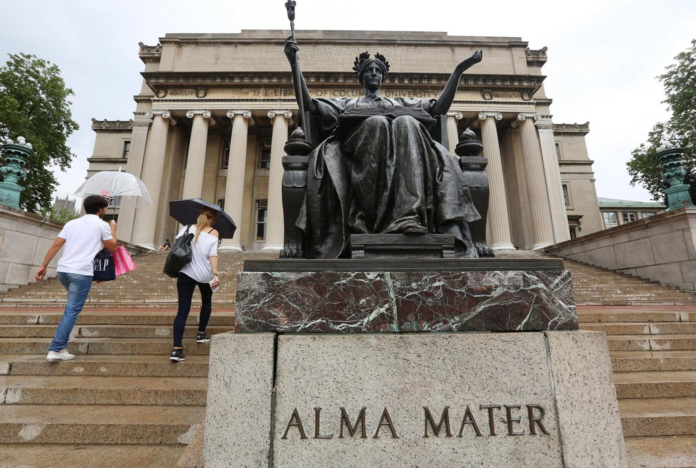 Students accuse Columbia University of 'importing racism' from Israel