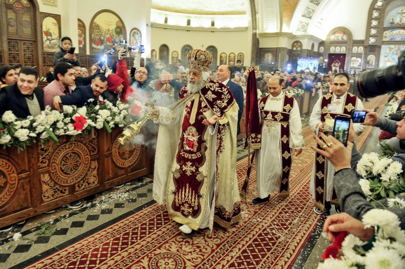Popes Christmas Mass 2020 What's different about Coptic Christmas? | Middle East Eye