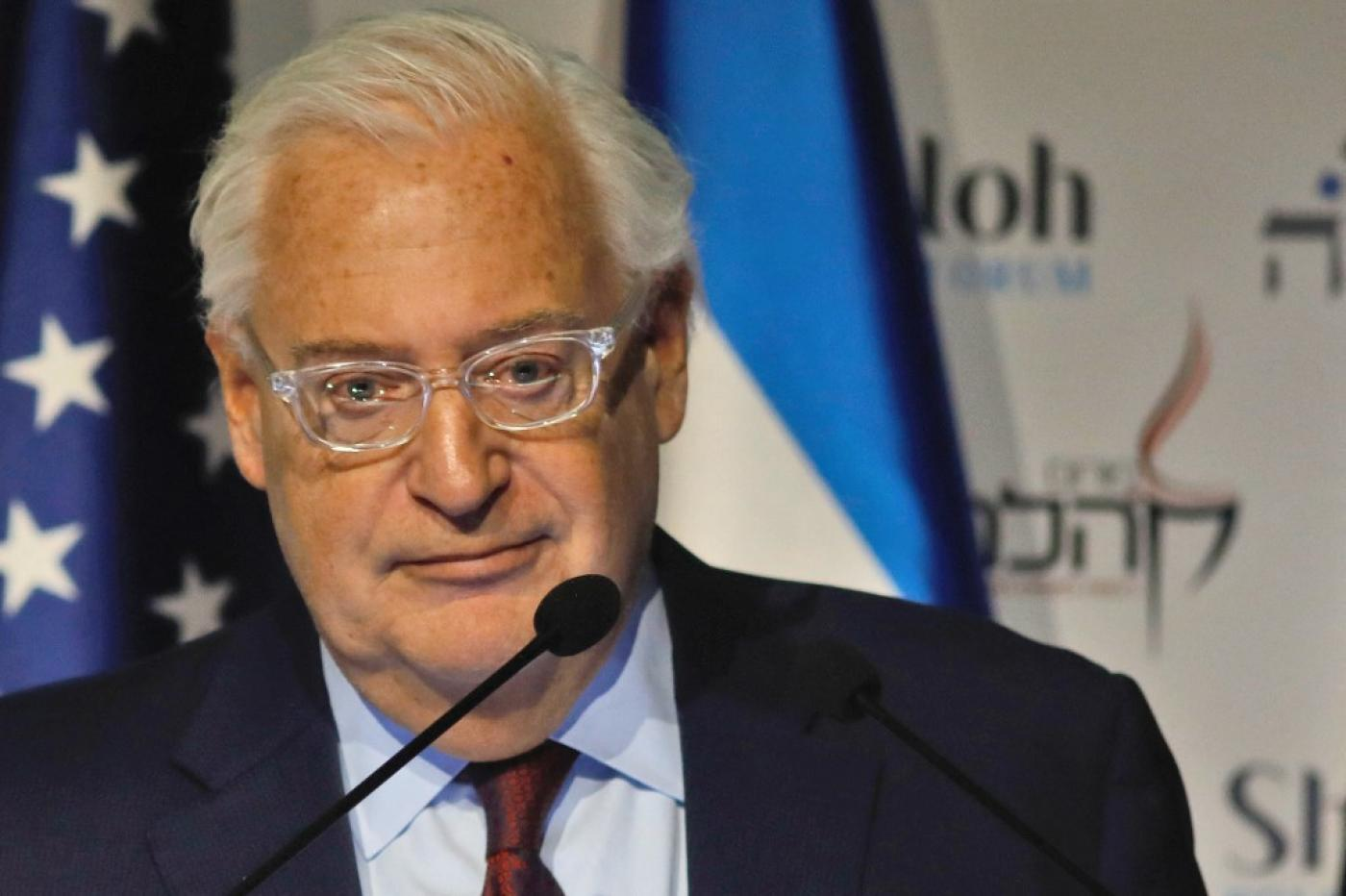 Friedman said it was him who made sure Trump was aware of the issue of moving the American embassy to Jerusalem.