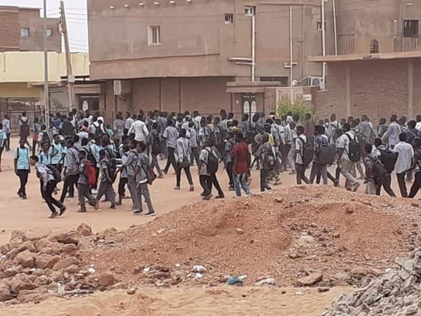 Four students shot dead at Sudan protest -opposition medics