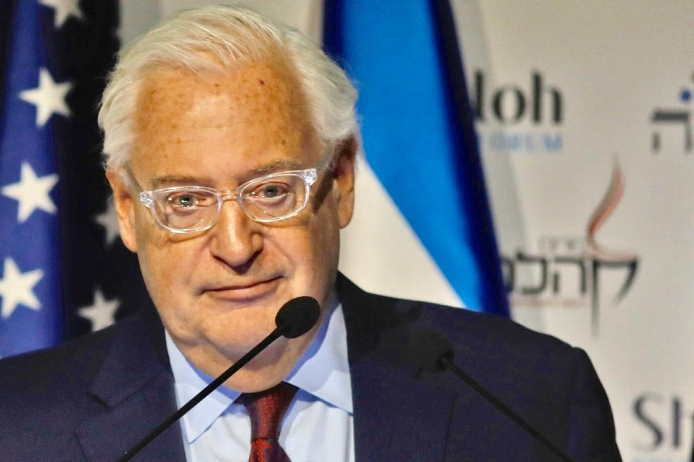 David Friedman predicted that the normalisation deals marked the beginning of the end of 'the Arab-Israeli conflict'