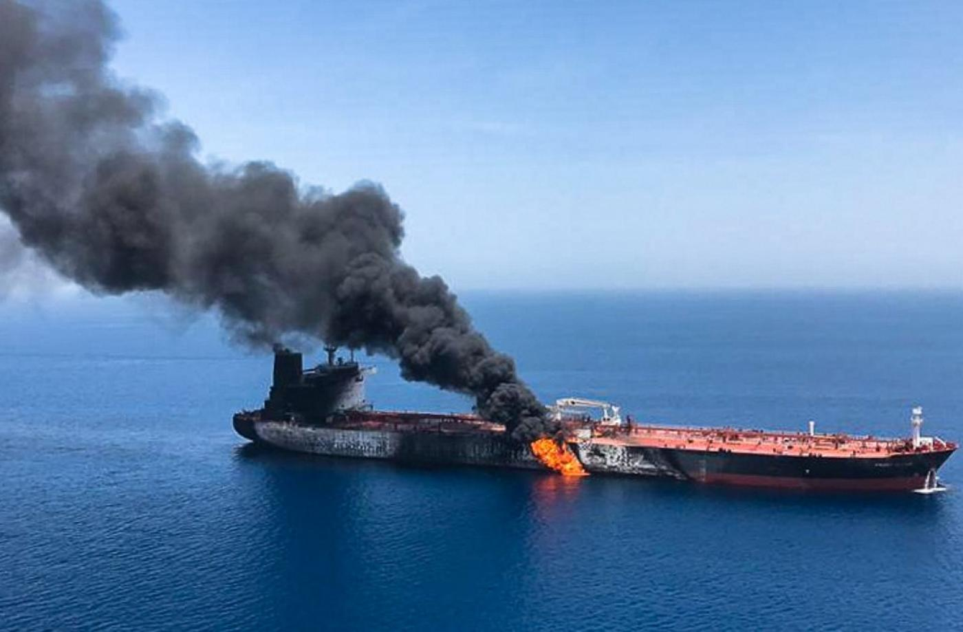Iran TV shows rescued crew of attacked tanker in 'full health'