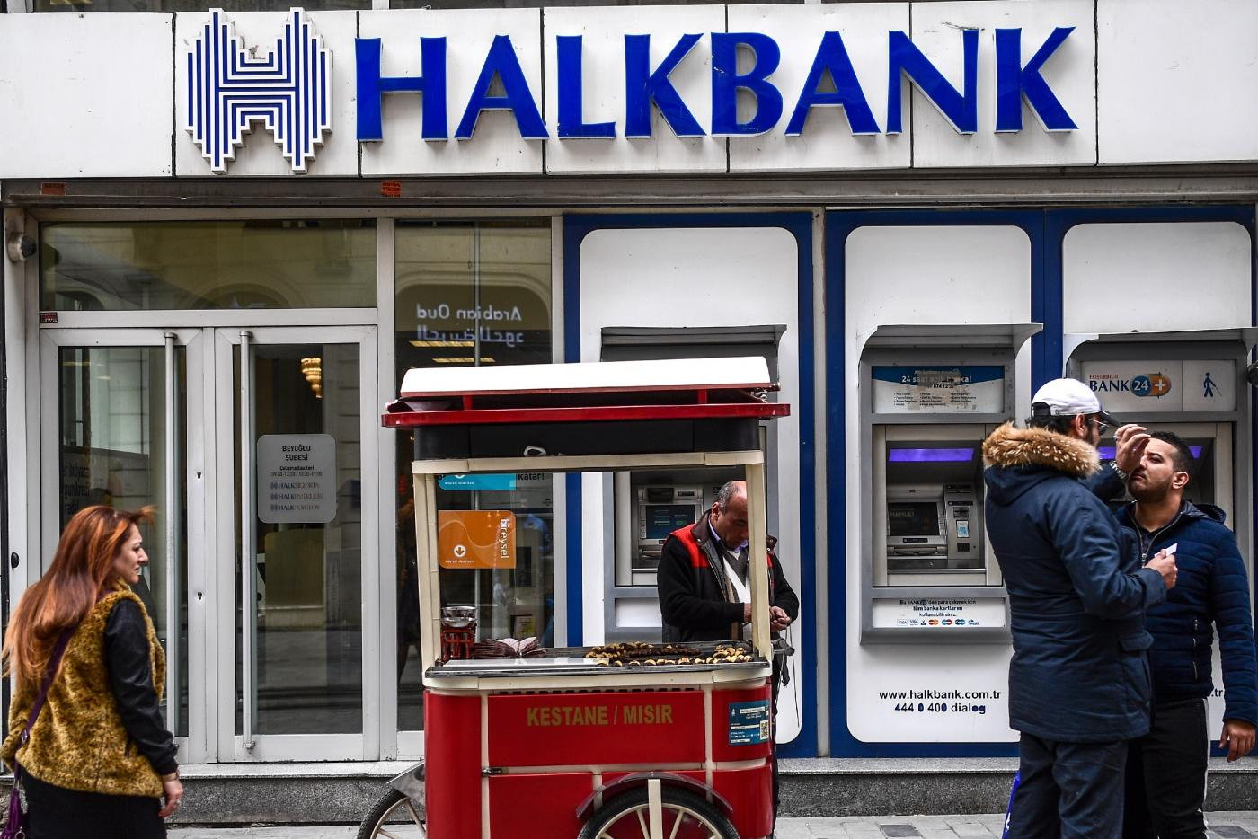 U.S. prosecutors accuse Turkey's Halkbank of scheme to evade Iran sanctions
