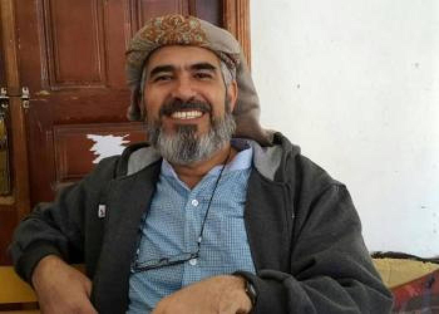 Hamed bin Haydara, now released, was arrested in 2013 and sentenced to death by a Houthi court after being charged with apostasy and spying for Israel (Bahai International Community)