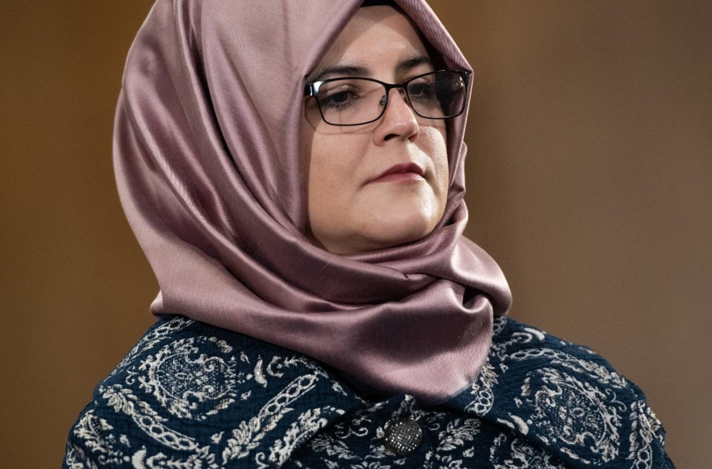 Khashoggi's fiancee sues Saudi Crown Prince over journalist's murder