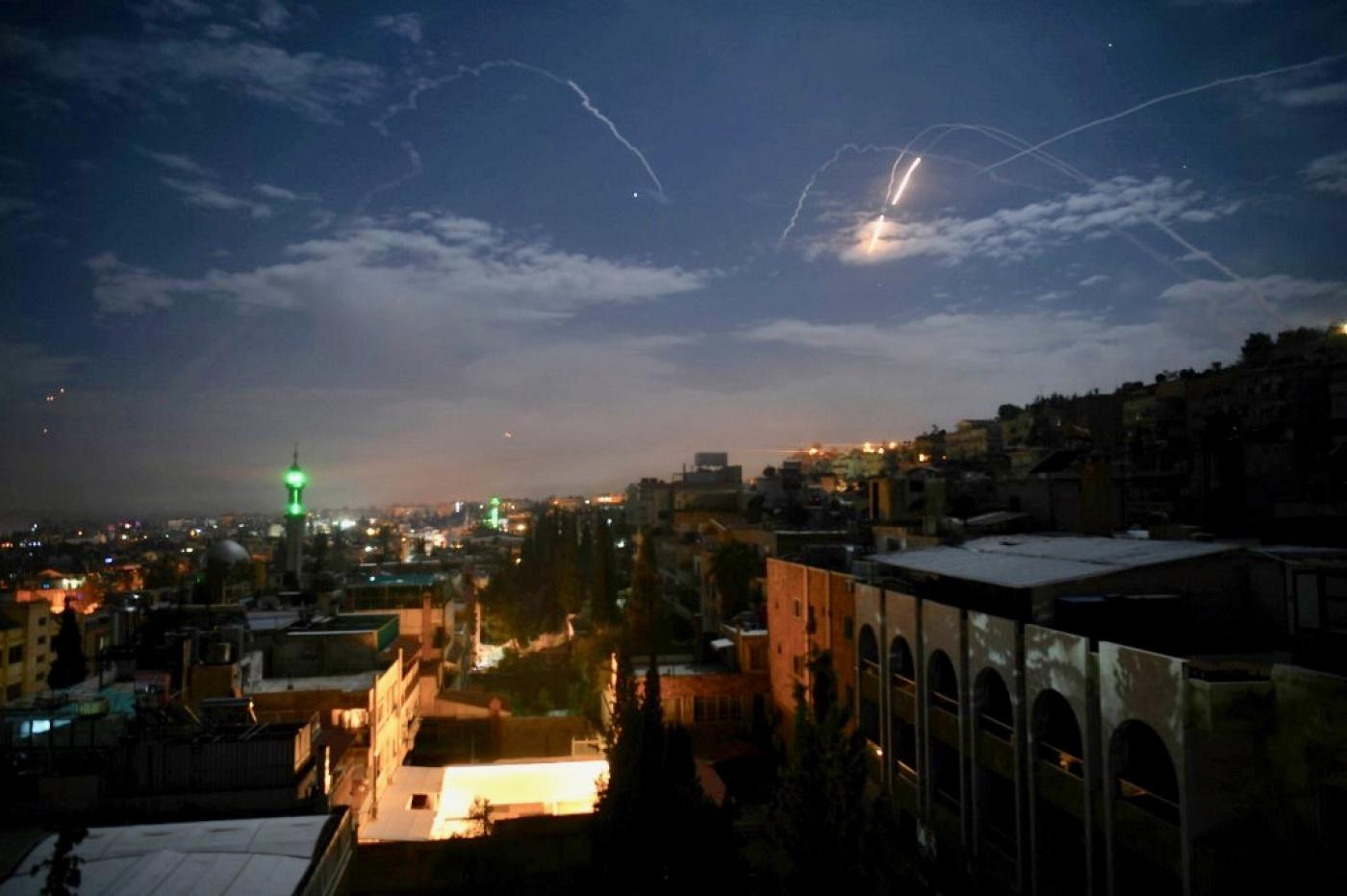 Israel strikes at Iranian forces in Syria to foil attack