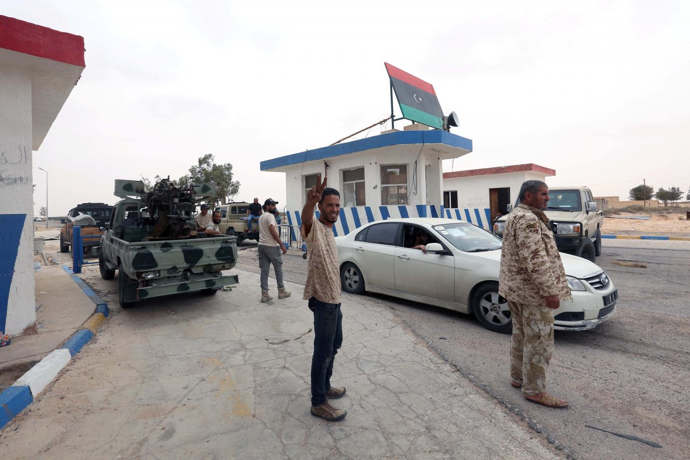 GNA takes military camp south of Tripoli
