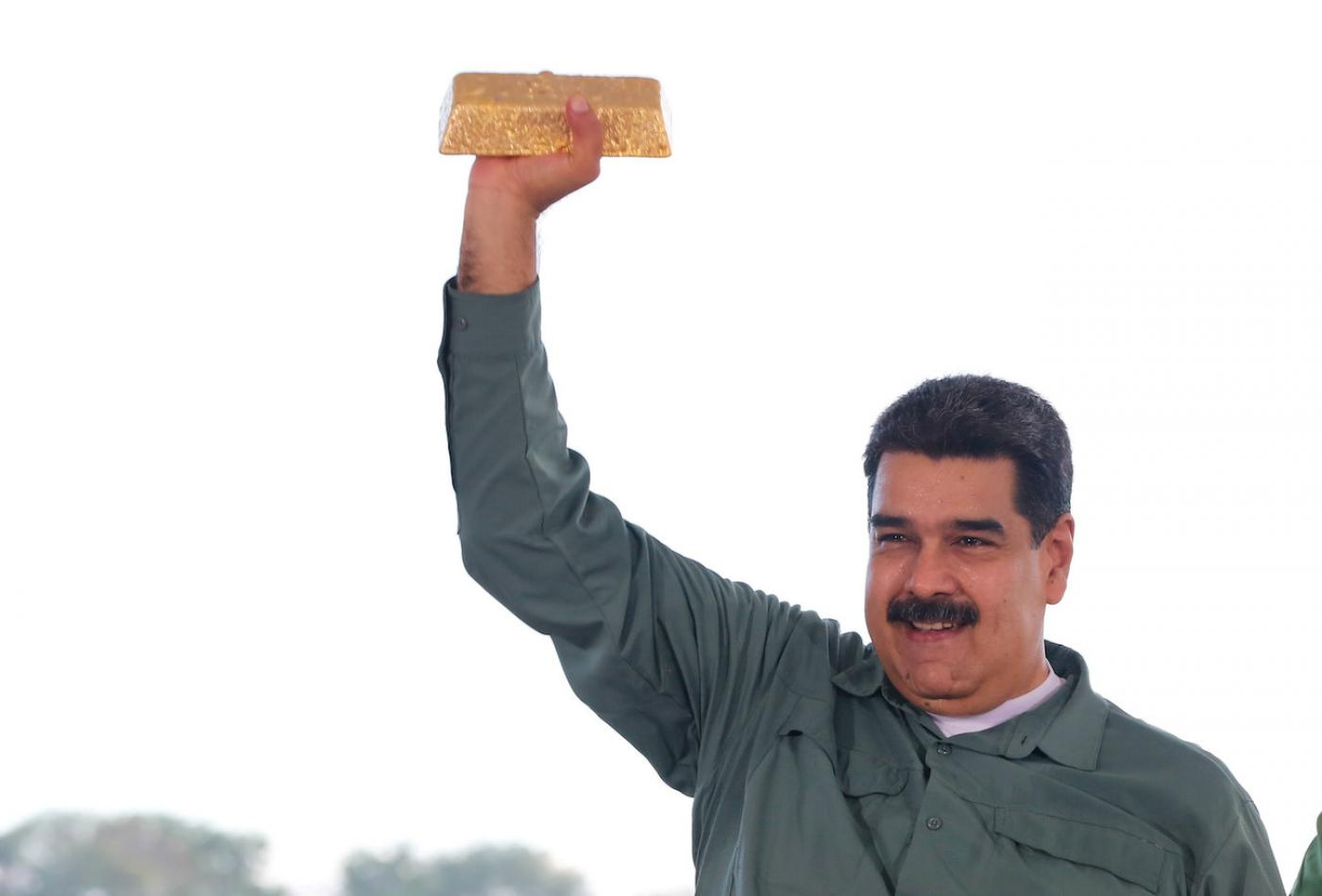 Venezuela Selling Its Gold to UAE for Cash