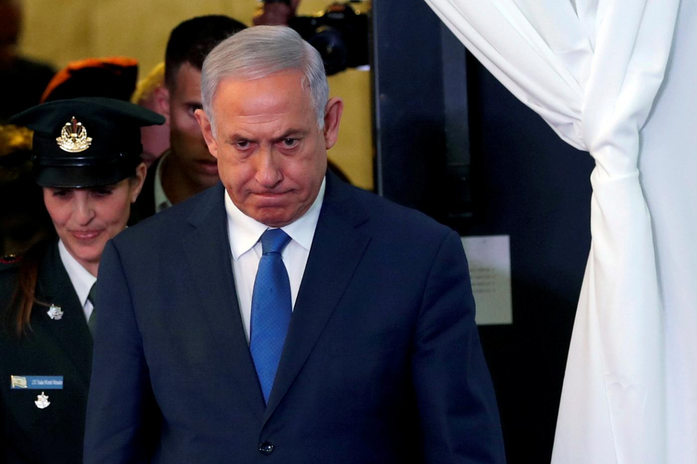 Israel's Netanyahu charged with corruption, says he won't resign