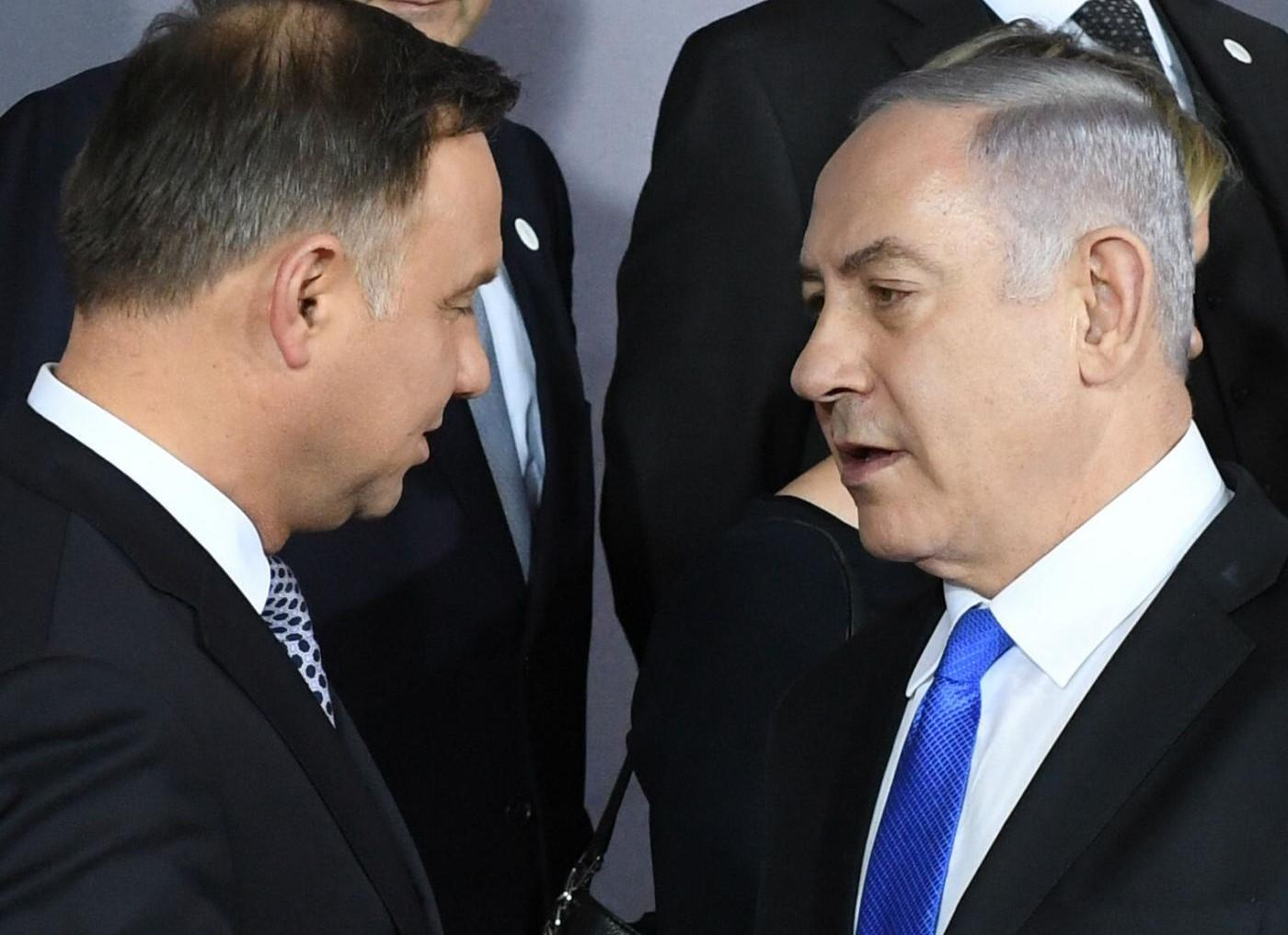 Poland says may withdraw from summit as Israel row escalates