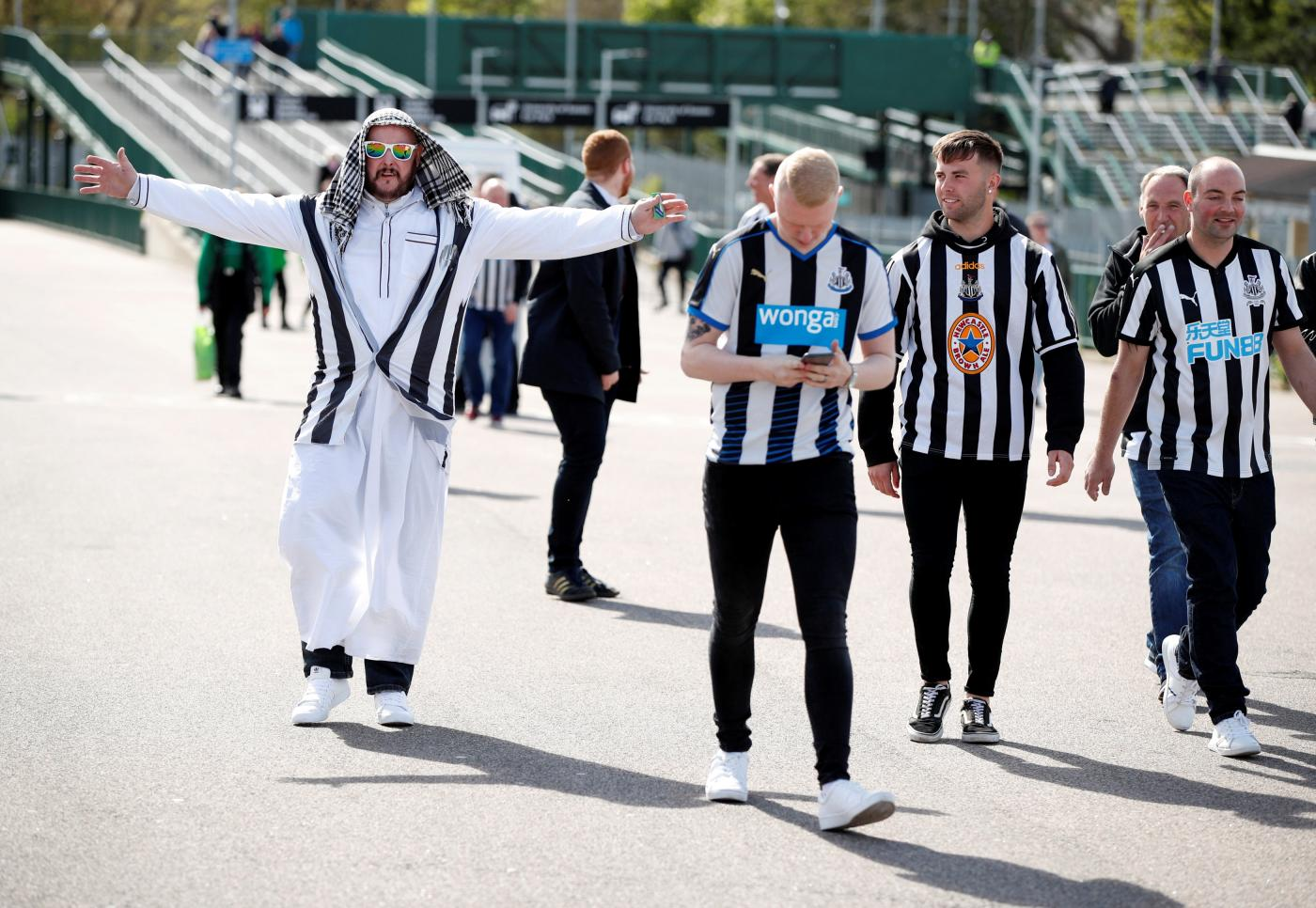 Newcastle risk 'becoming a patsy' with Saudi takeover