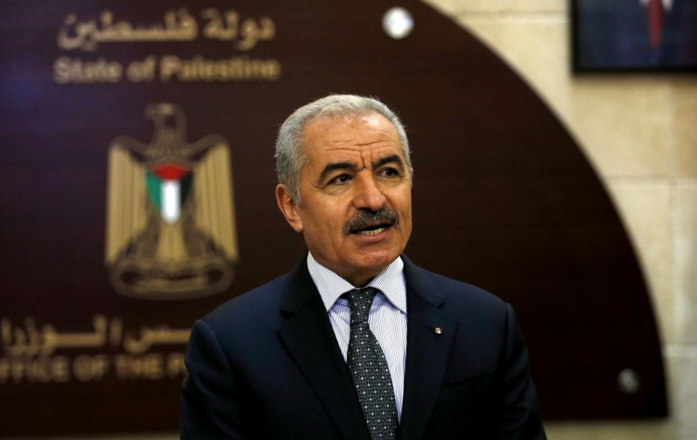 Palestinian PM Mohammed Ishtayeh said Tuesday's signing ceremony 'will be a black day in the history of the Arab nations'.