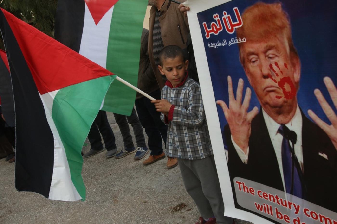 Palestinian President Abbas rejects US Mideast plan