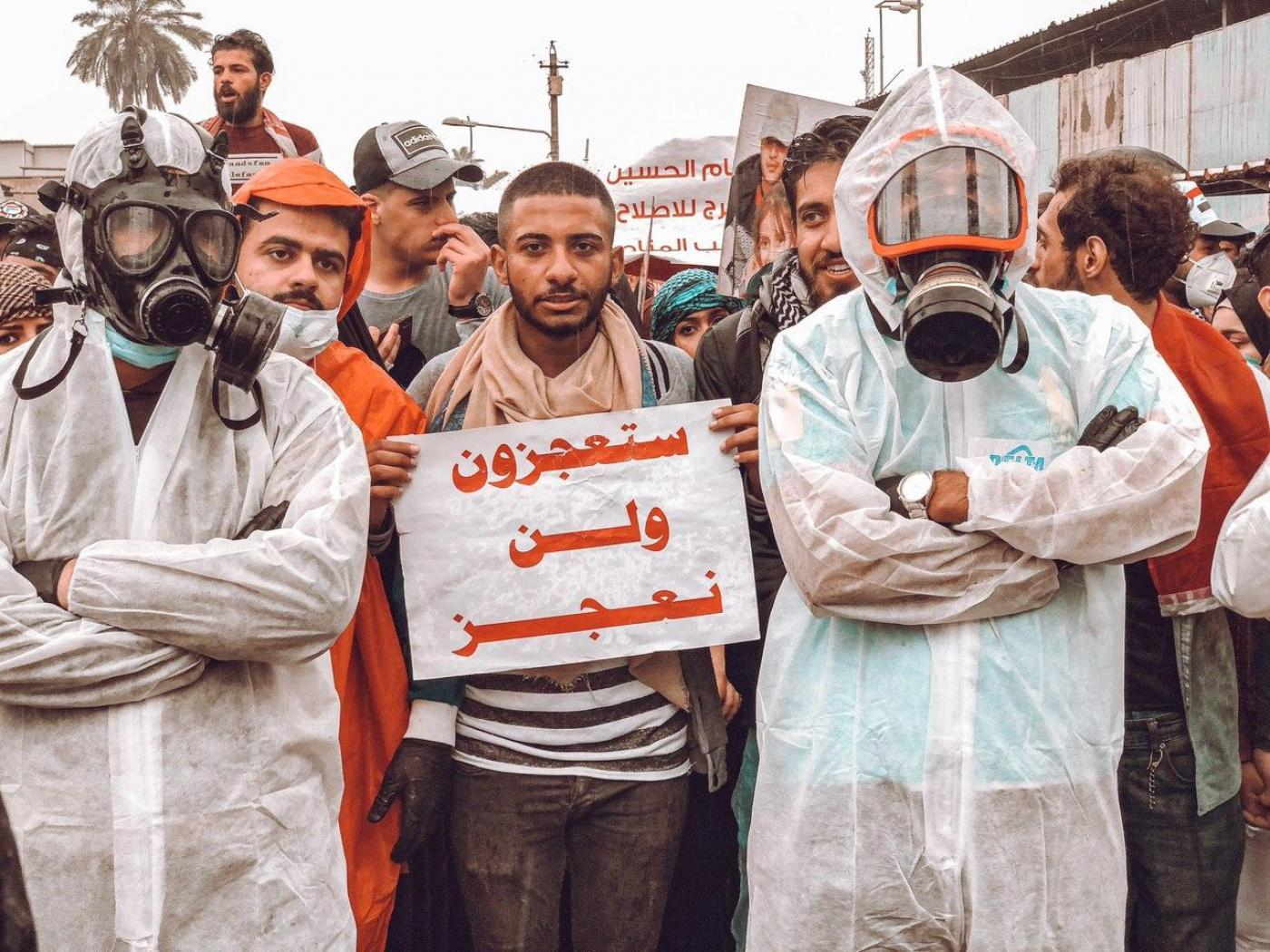 Coronavirus Won T Stop Us Iraqis Vow To Continue Protests