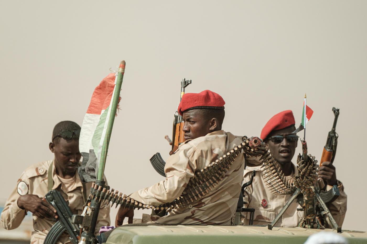 Sudanese soldiers in libya ile ilgili görsel sonucu