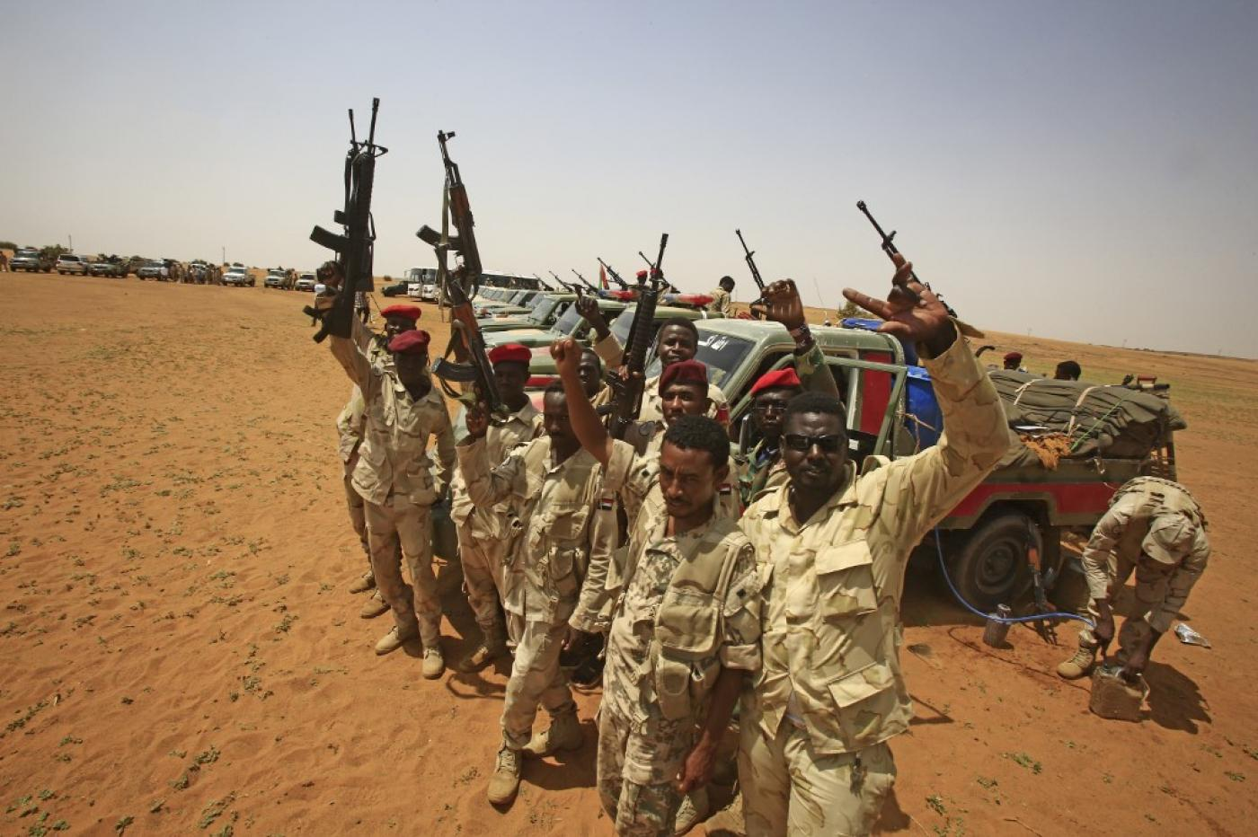 From singing children to free transport: Sudan's battle for public opinion