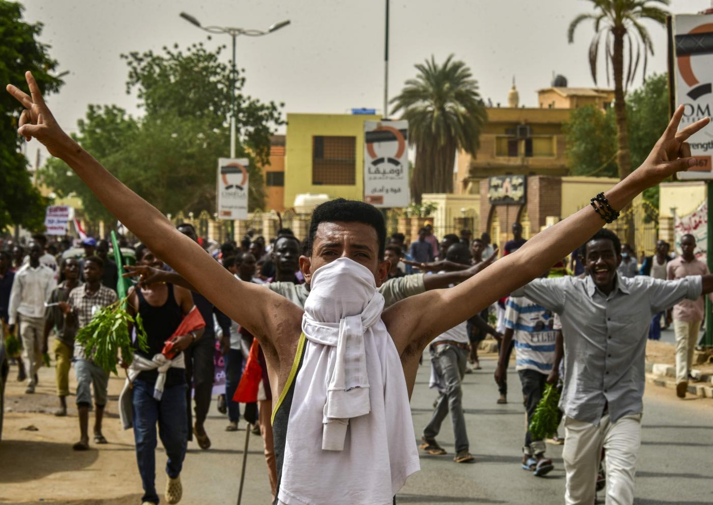 Seven killed and scores injured as Sudanese rally for 'march
