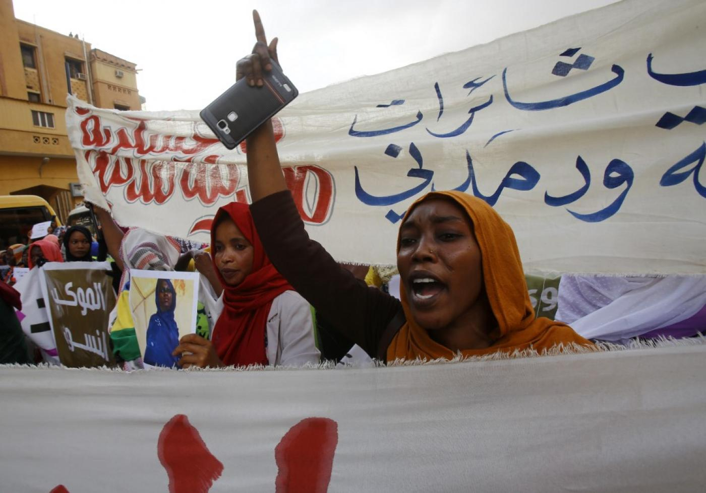 Sudan's protest movement fears military threats over sit-in