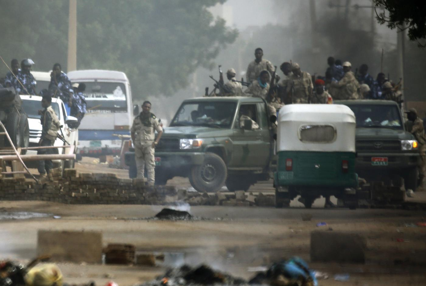 Sudan crackdown reveals military's limit on extent of change