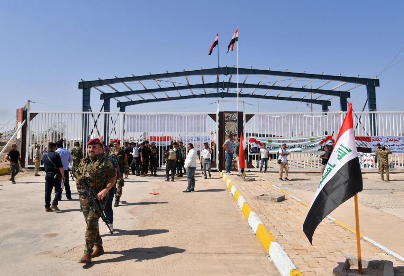 Iranian commander killed in airstrike on Iraq-Syria border