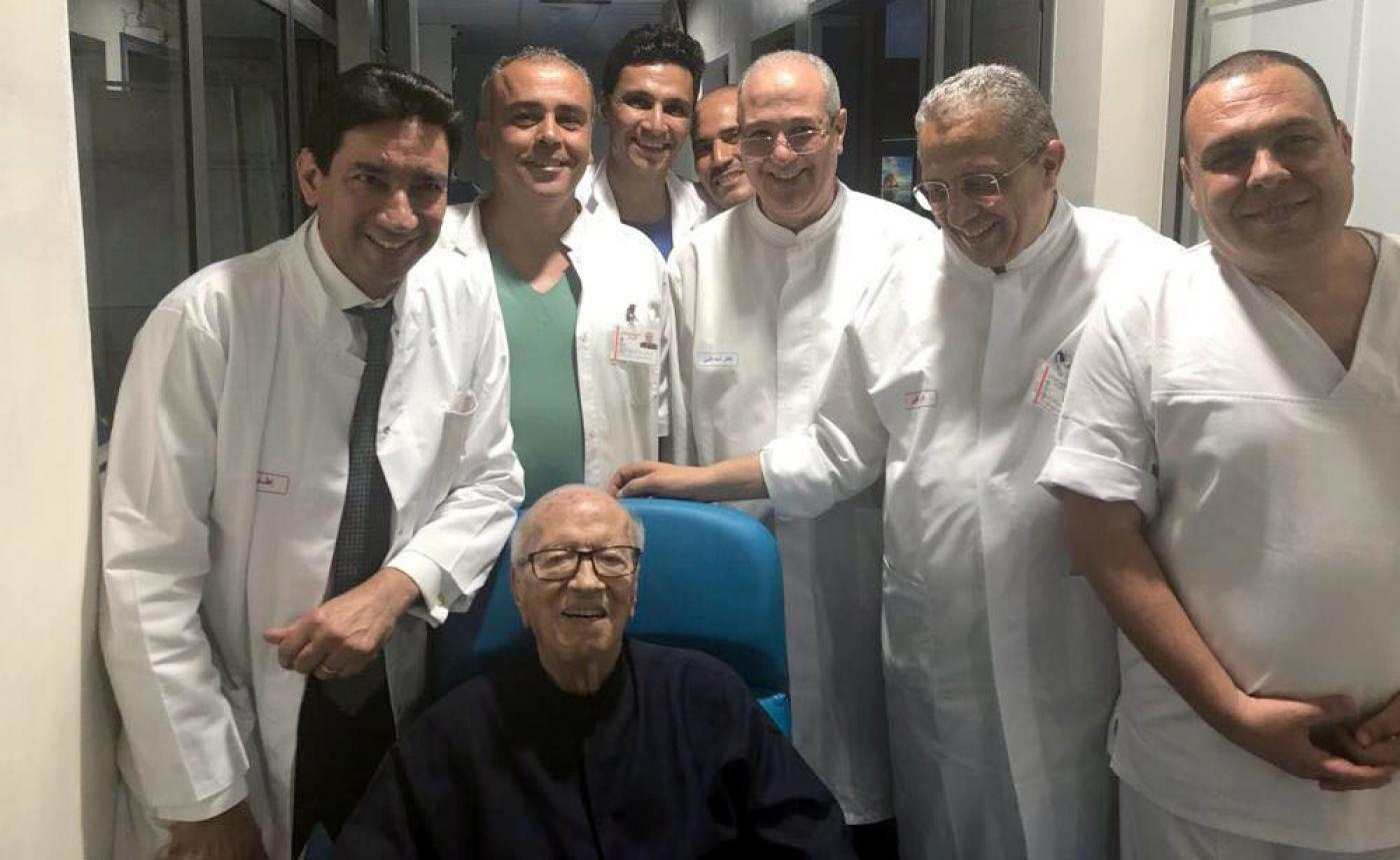 Tunisian president discharged ...
