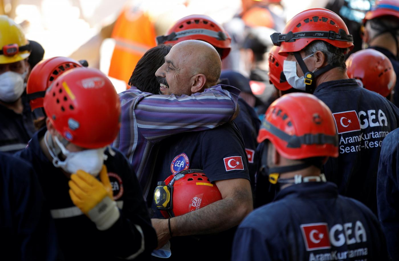 Fourteen dead and 400 injured after quake strikes Turkey and Greece