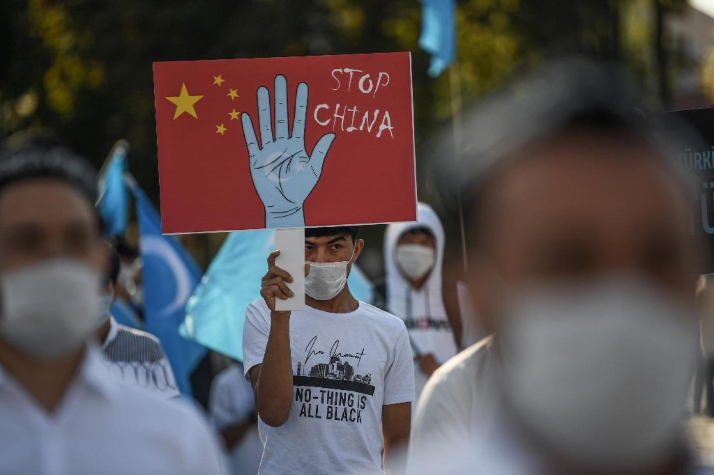 Despite protests from Uighurs outside of China, many Muslim-majority countries have remained silent on China's rights violations