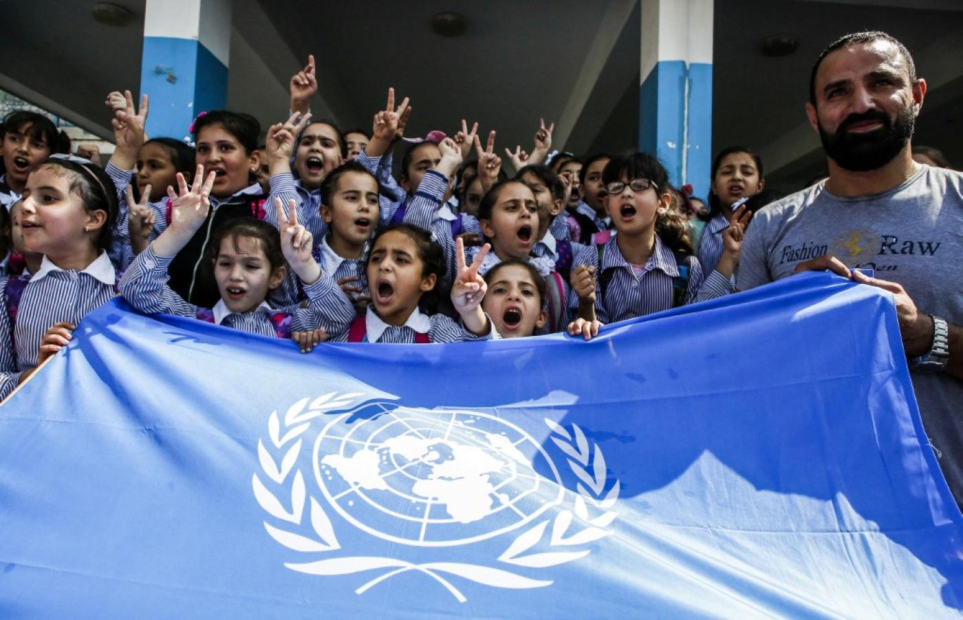 UNRWA provides basic services to Palestinian refugees, including health care and education