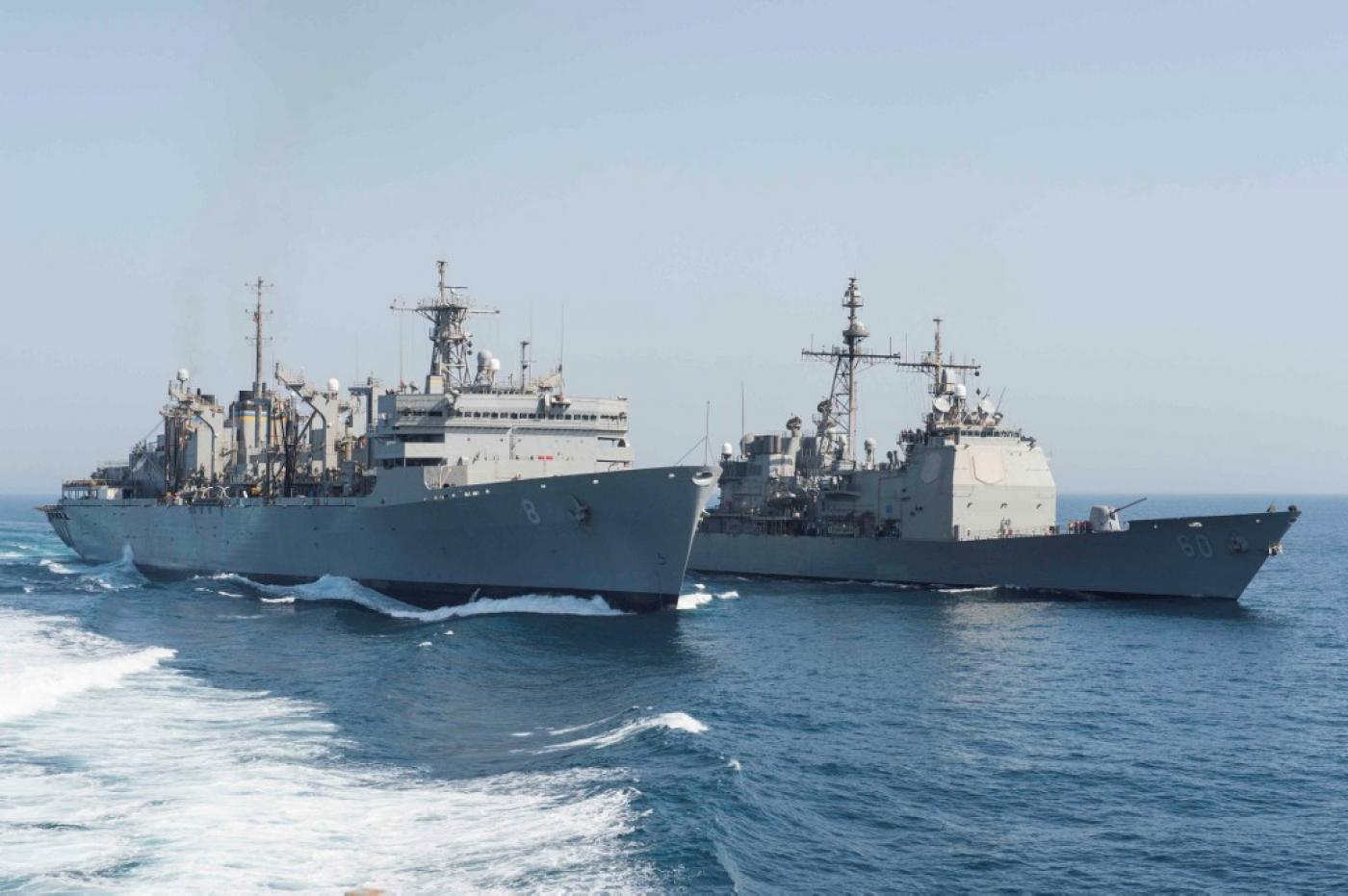 U.S. Warship in Arabian Sea Seizes Suspected Iranian Weapons