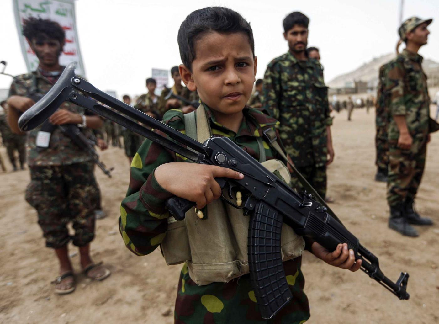 Meet the child soldiers of Yemen, sent into battle by adults | Middle East  Eye