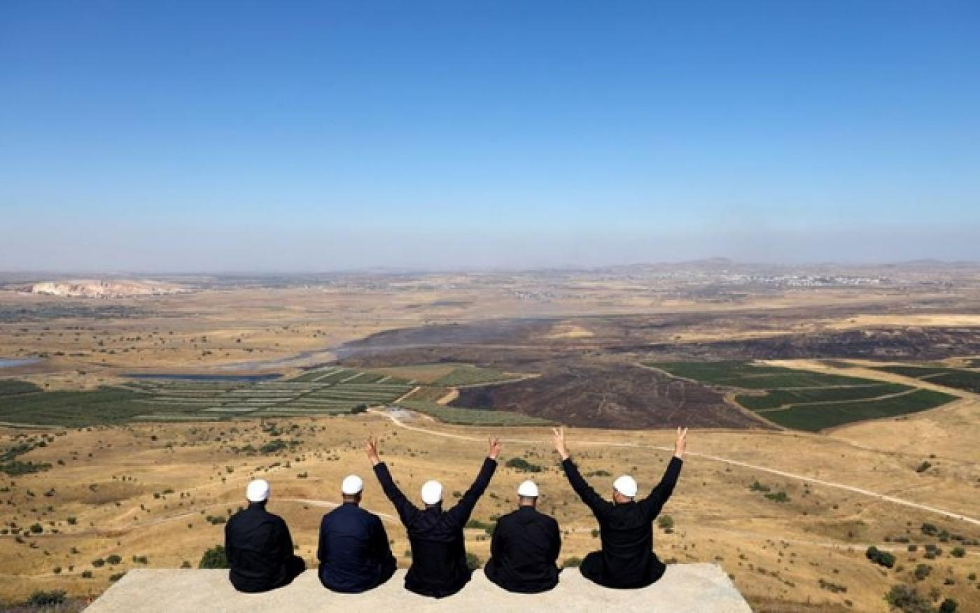 Time for the USA to 'recognize Israel's sovereignty over the Golan Heights'
