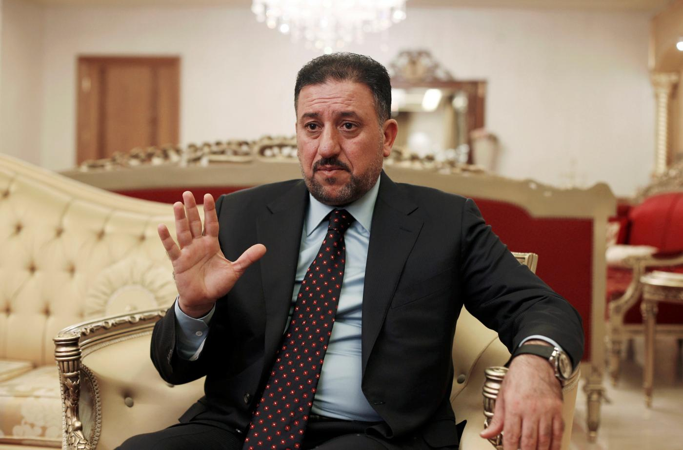 Khamis al-Khanjar, pictured in Amman in 2016 (Reuters)